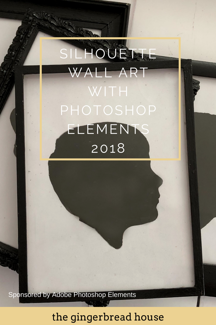Creating Silhouette Wall Art with Photoshop Elements 2018