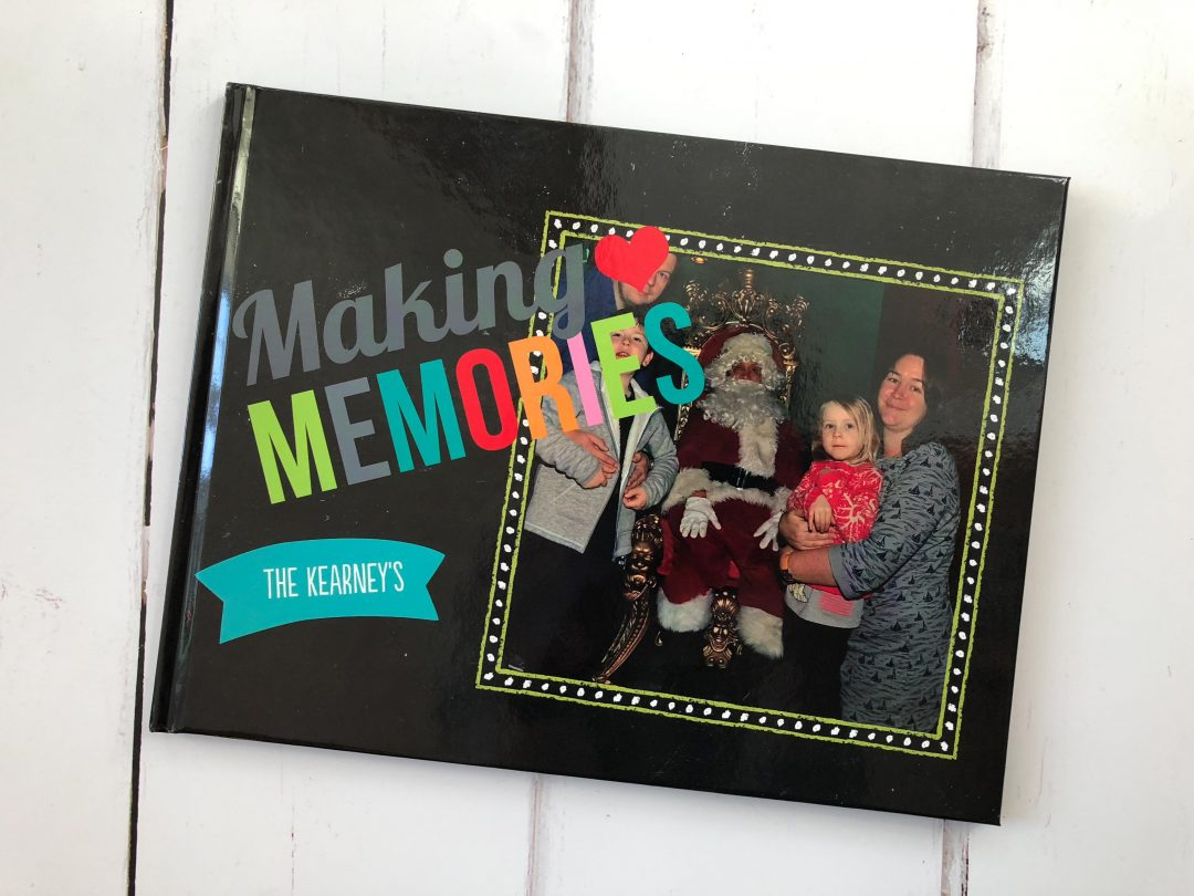 Creating a keepsake of Christmas memories