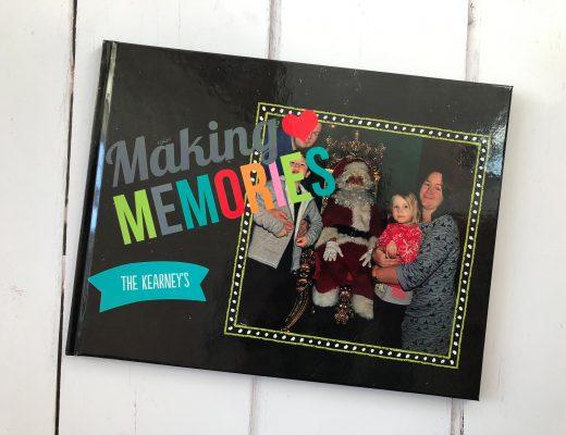 Creating a keepsake of Christmas memories