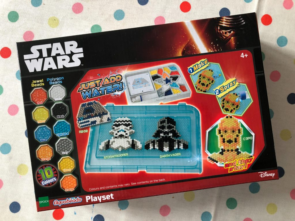 Aquabeads Star Wars Playset review