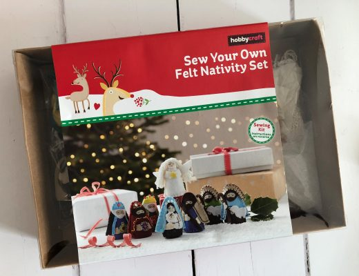 Sew Your Own Felt Nativity Set