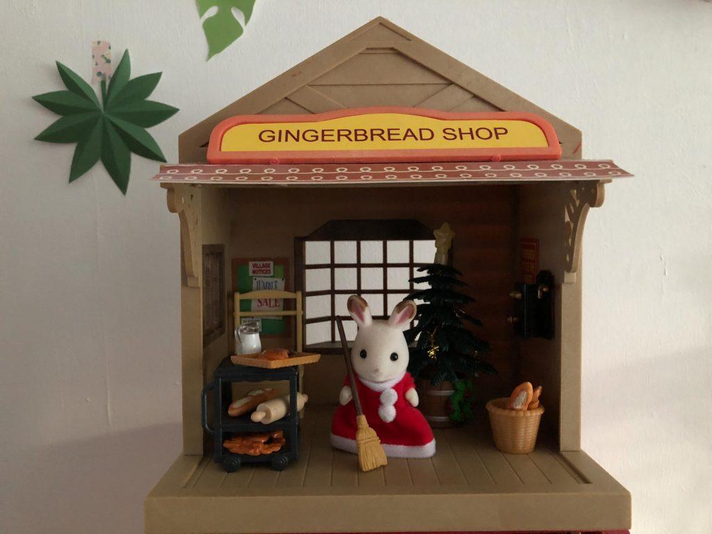 Sylvanian Families homemade gingerbread shop