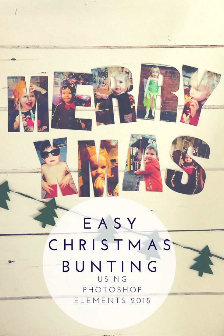 Personalised Christmas Letter Bunting