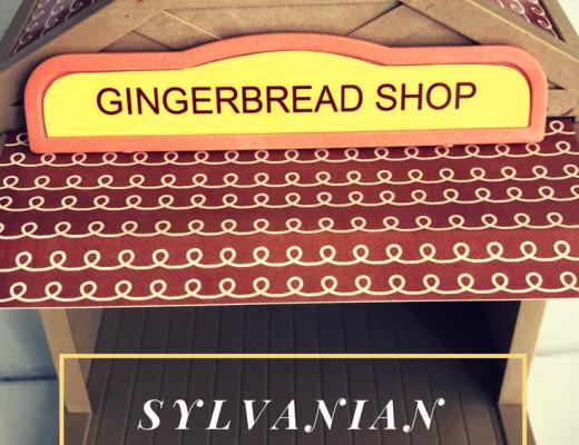 DIY Sylvanian Families gingerbread house