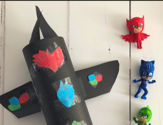 Make your own PJ Masks Headquarters craft