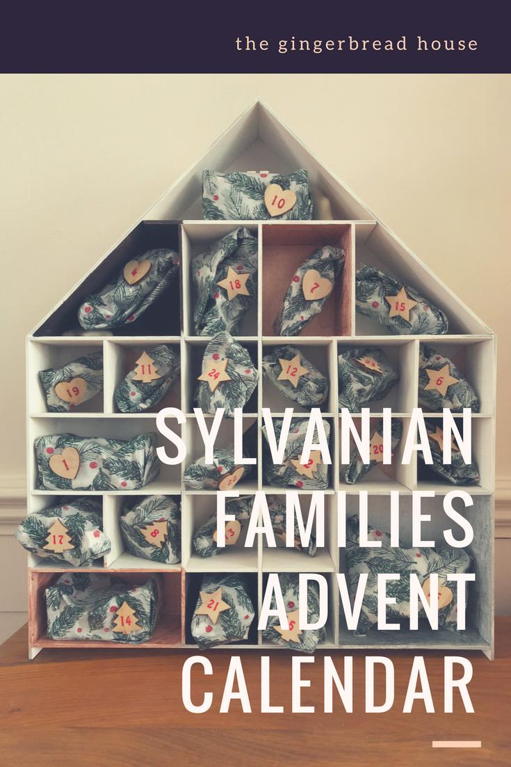 Our homemade Sylvanian Families advent calendar