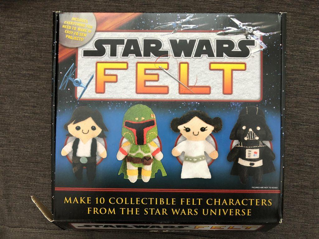 Star Wars Felt Characters