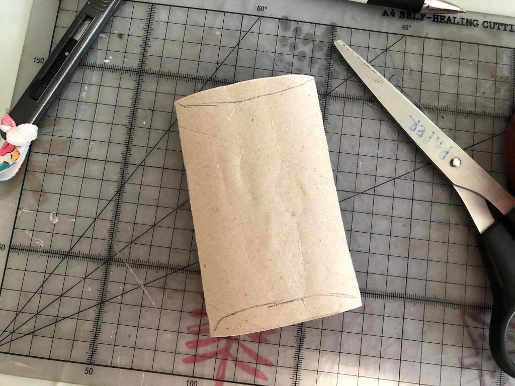 cardboard tube craft