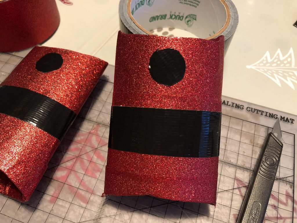 Duck Tape Father Christmas