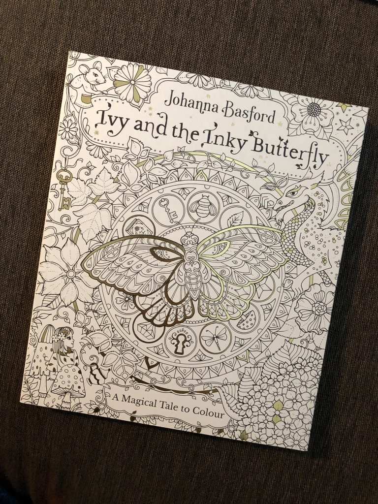 Ivy and the Inky Butterfly cover