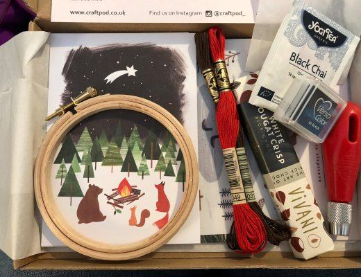 Winter Craftpod box