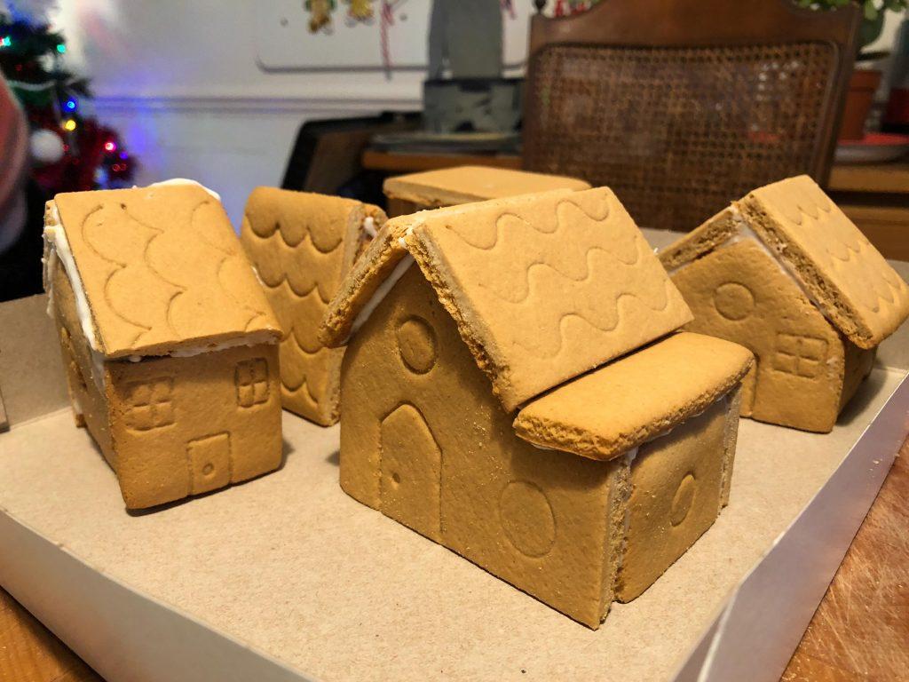 building a Gingerbread Village