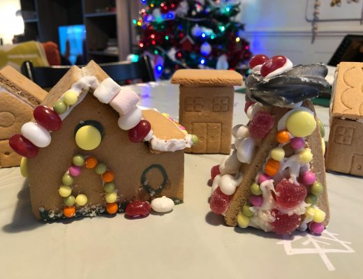 Creating a Gingerbread Village with Morrisons