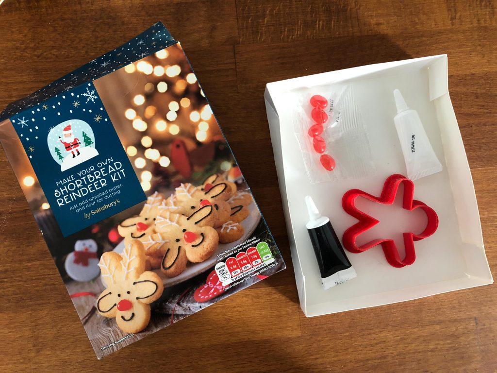 How to make shortbread reindeer biscuits