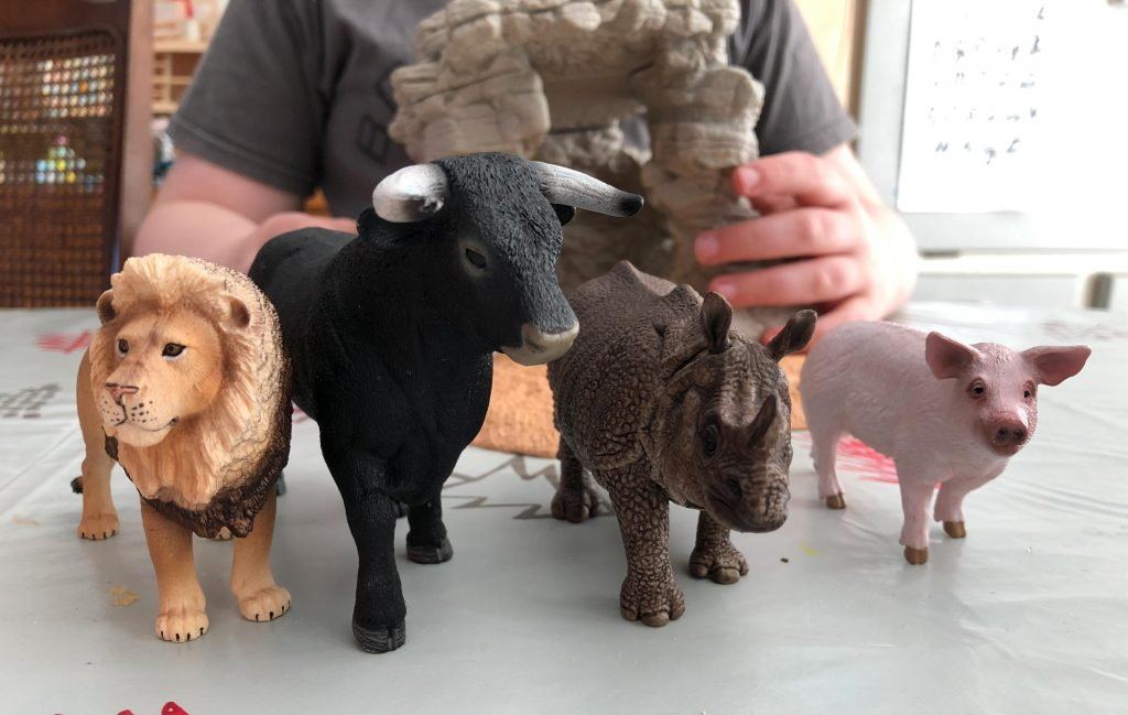 Schleich new Wildlife animals {review}
