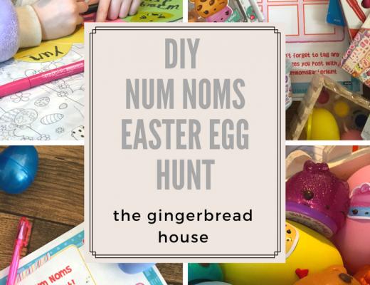DIY Num Noms Easter Egg Hunt