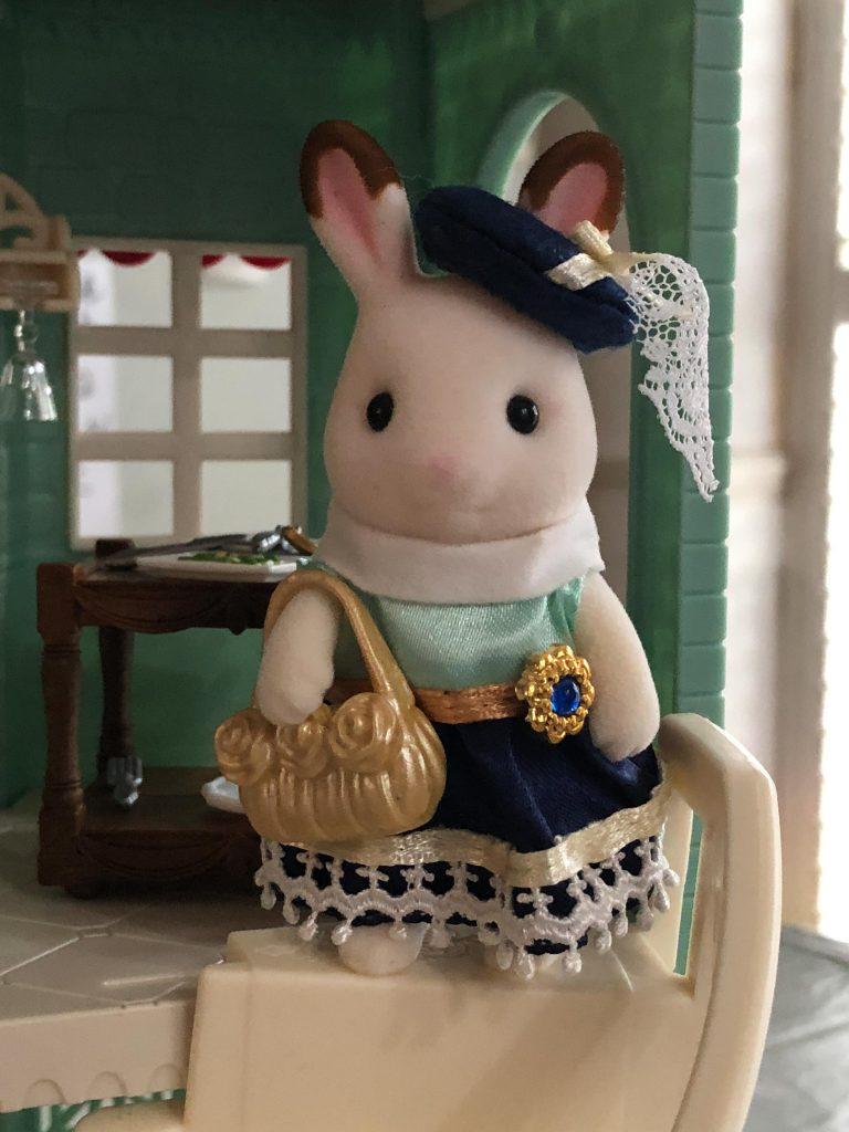 Stella Chocolate Rabbit girl