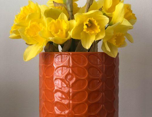 Orla Kiely ceramic plant pot