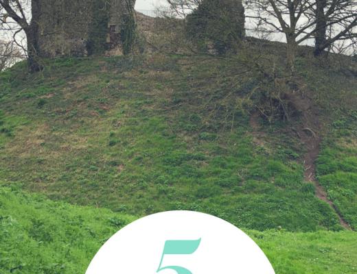 5 reasons to visit Castle Acre Castle with kids