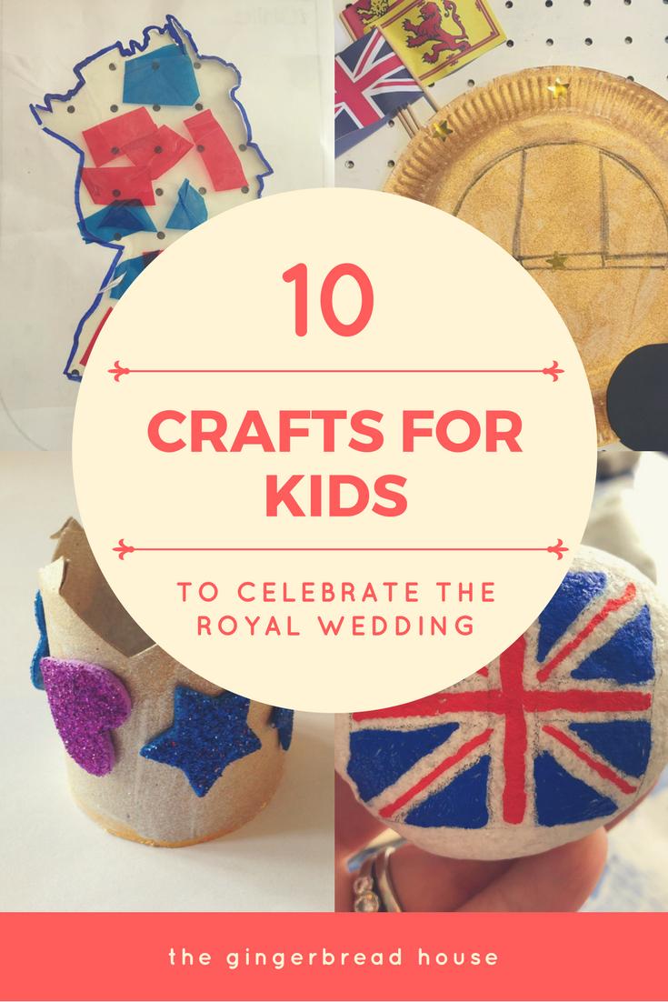 10 Royal Wedding crafts