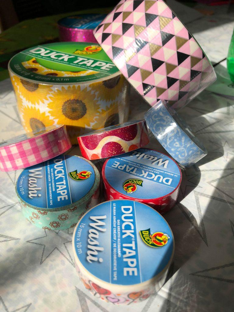 Duck Tape supplies