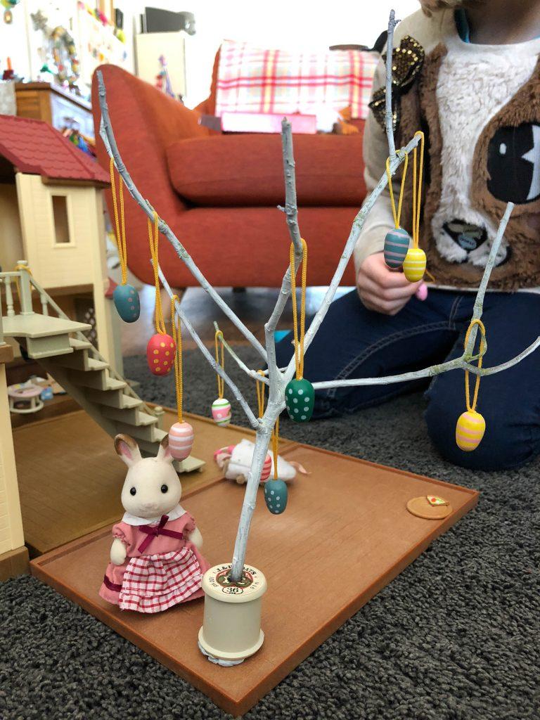 Sylvanian Families Easter tree