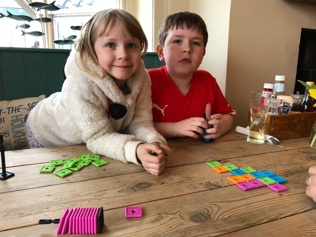 playing OK Play in the pub