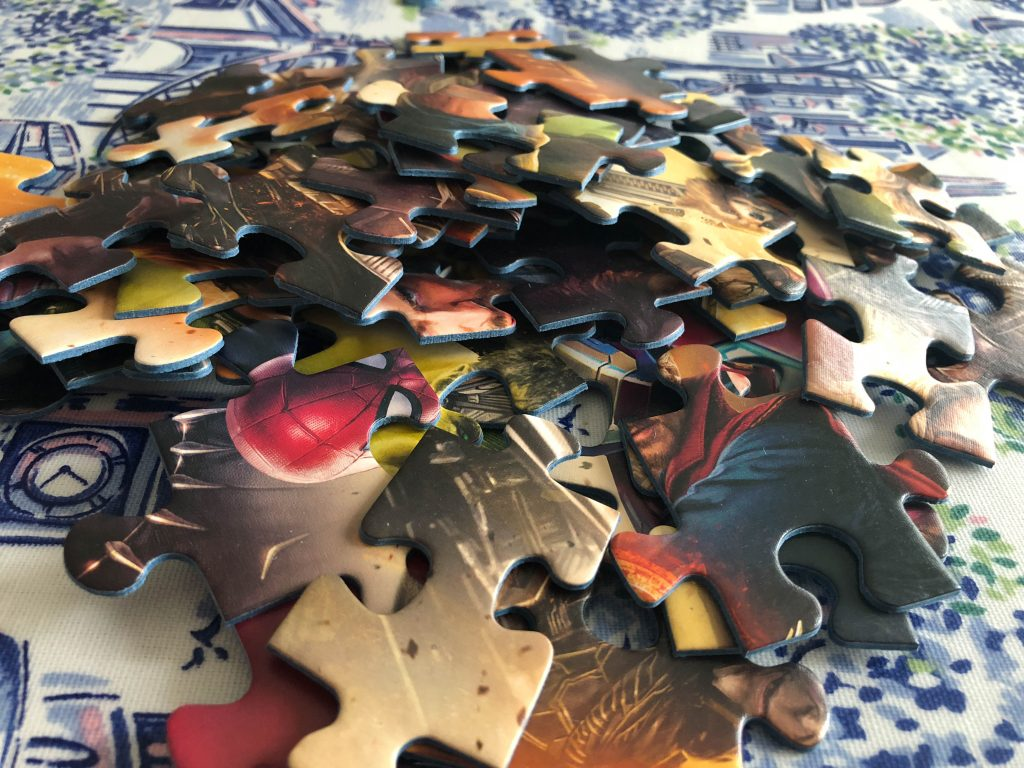 Avengers Infinity War puzzle