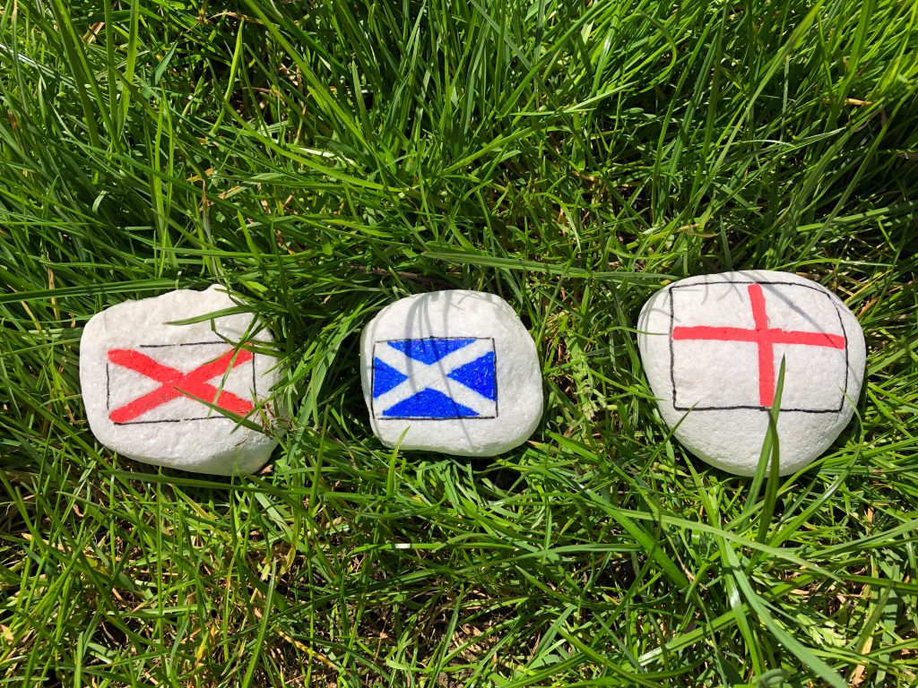 UK painted rocks