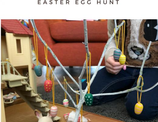 Sylvanian families Easter egg hunt