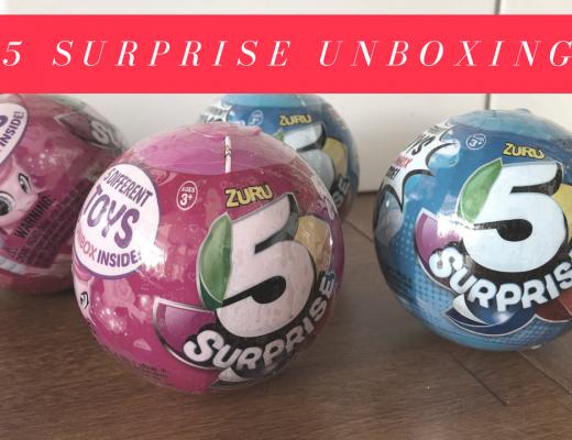 5 SURPRISE UNBOXING