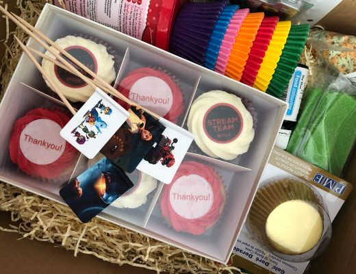 Netflix cupcakes