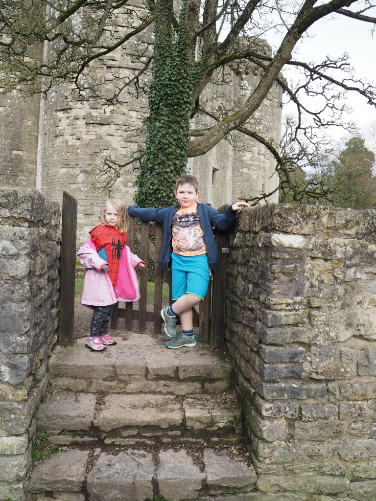 a trip to Nunney Castle