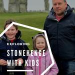 Exploring Stonehenge with kids