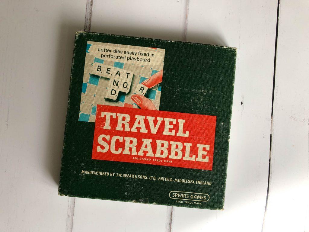 vintage Travel Scrabble kit