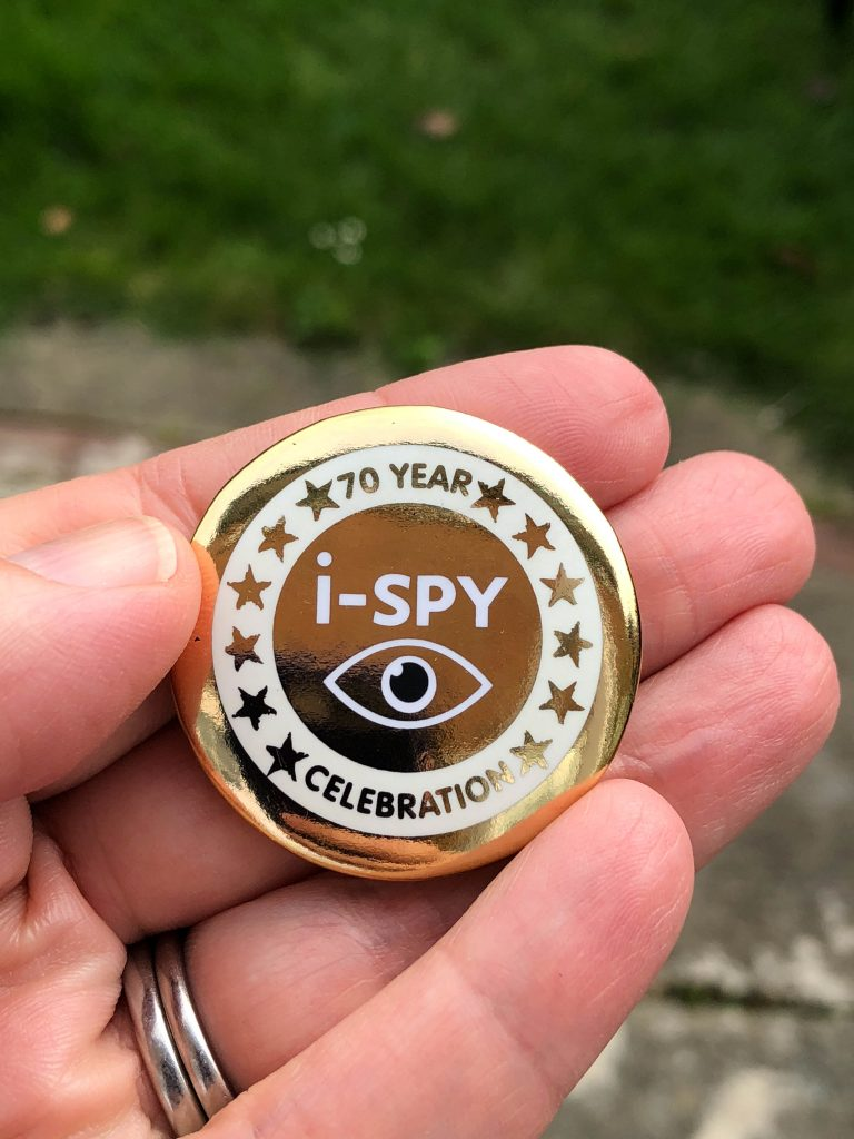 limited editions of i-SPY badges