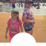 Places for outdoor swimming or water play in west London