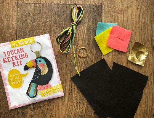 Mollie Makes Toucan Keyring Kit