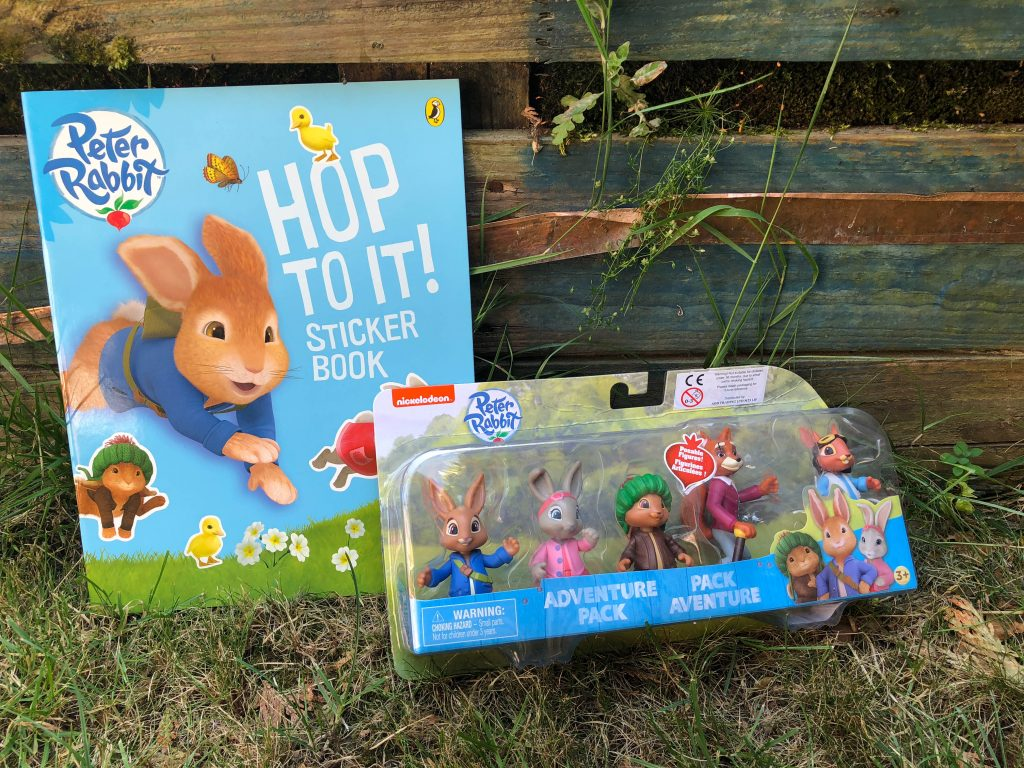 Peter Rabbit: Let's Go! app review and giveaway