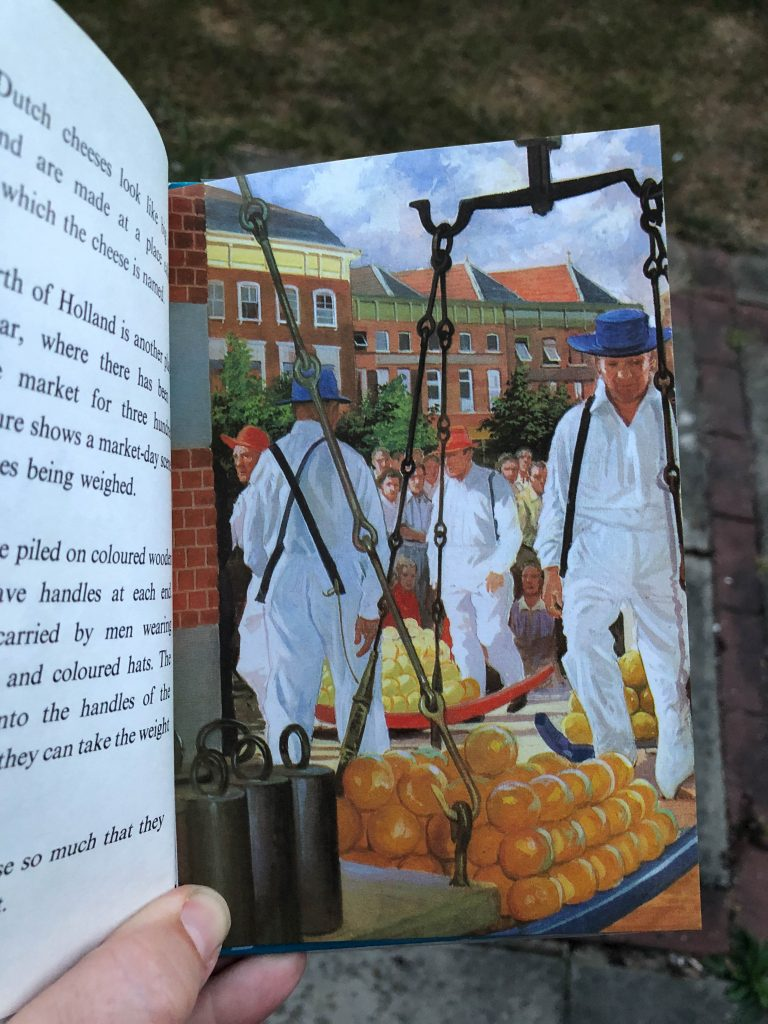 vintage Ladybird come to Holland book