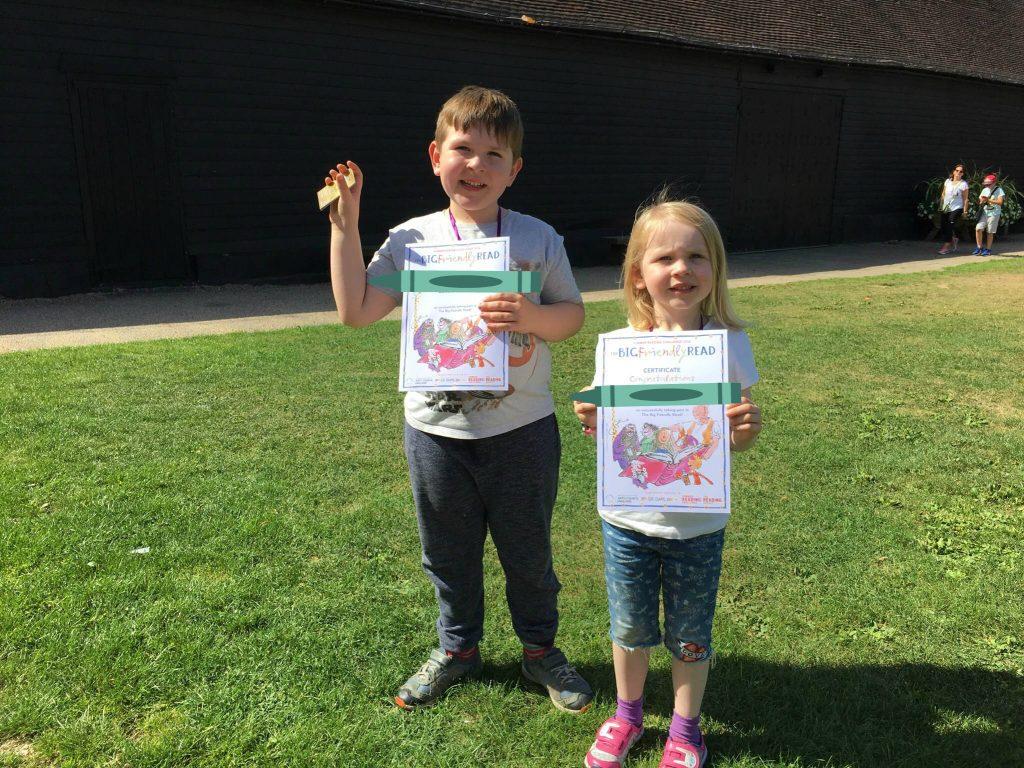 Summer Reading Challenge medal