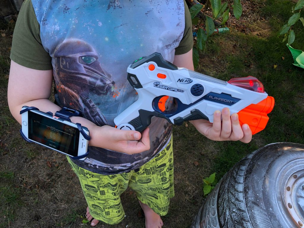 Nerf Laser Ops Pro range