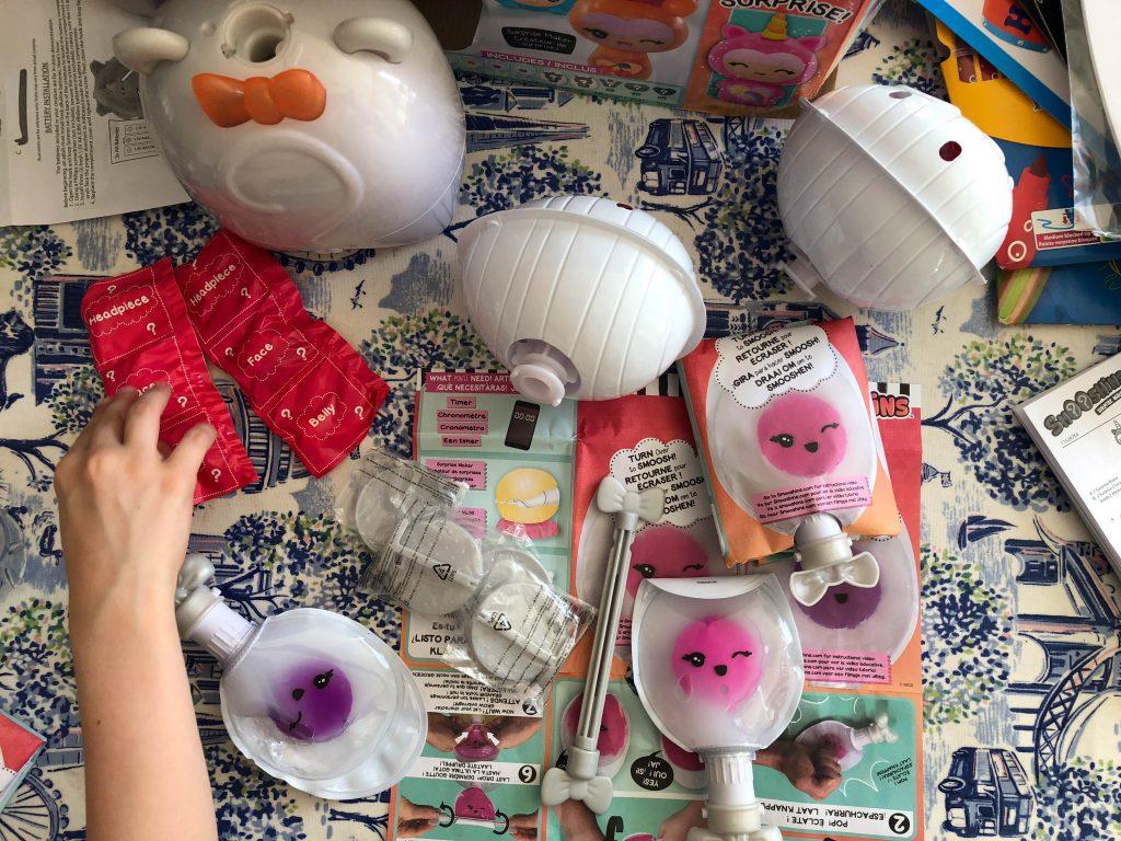 Surprise Maker Kit contents