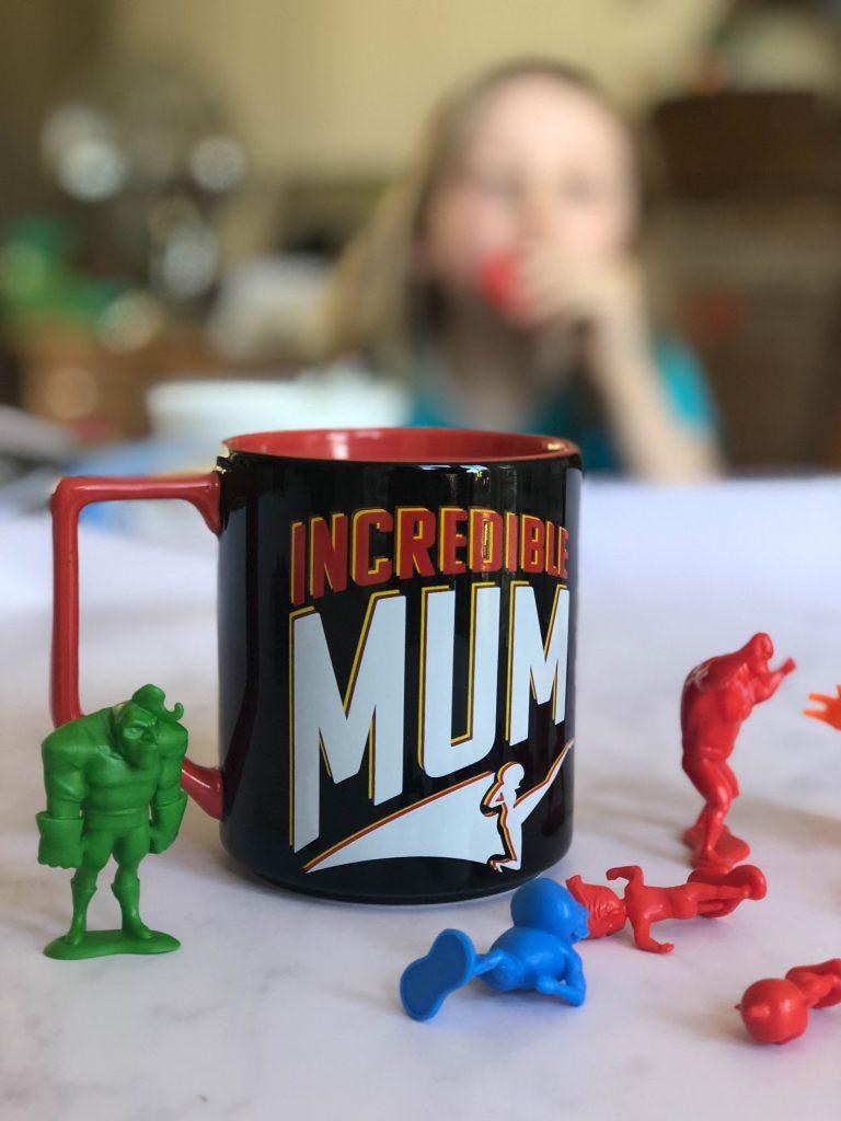 Incredible supermum mug