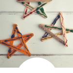 Craft Stick Star decorations