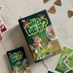 Blogger Board Game Club review: Who Did It?