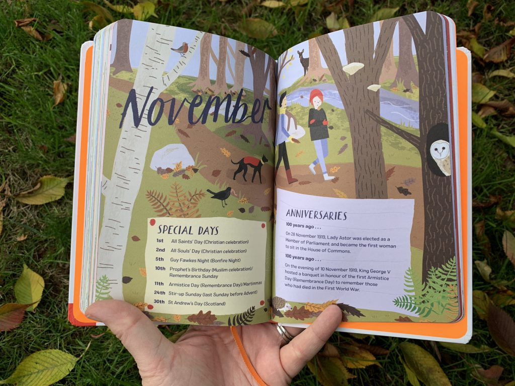 November Nature Month-by-Month book review