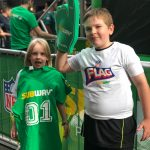 Subway, lead sponsor of the NFL London Games and the NFL Flag School Programme, are encouraging kids to try sport