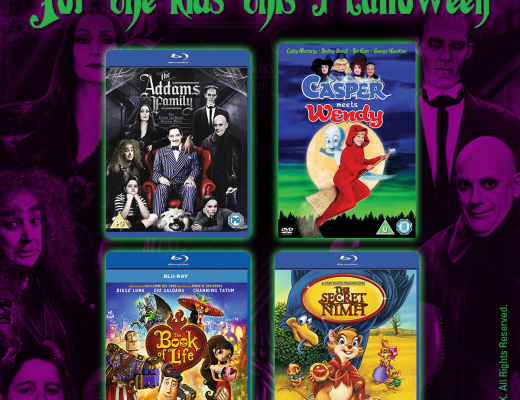 Win a bundle of spine tingling family films for Halloween