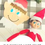 Elf cupcake liner craft for kids to make